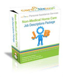 NON CLINICAL JOB DESCRIPTIONS