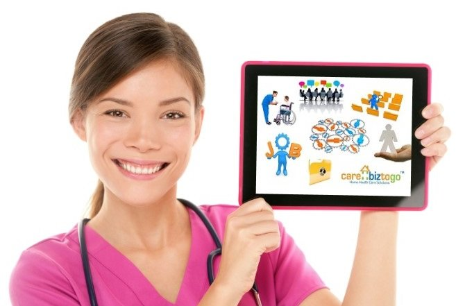 Home health tablet software
